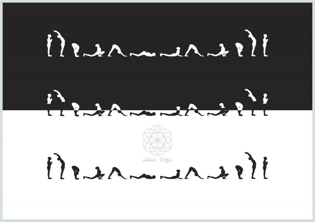 Surya Namaskar Jana Yoga